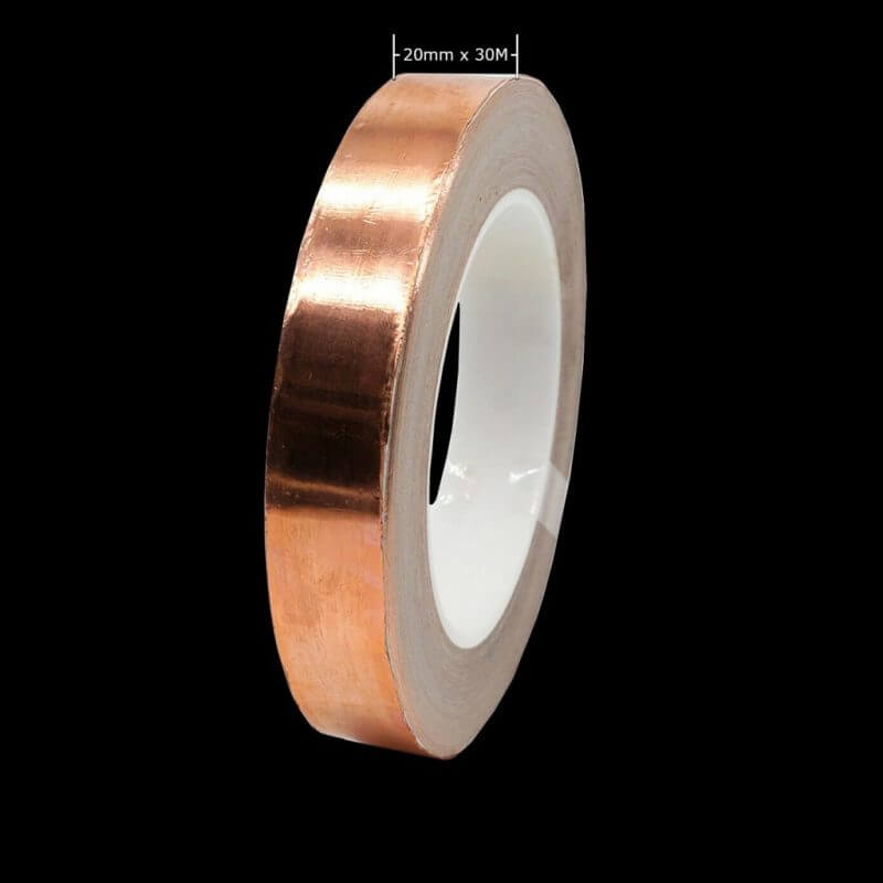 20mm x 30M copper tape reel