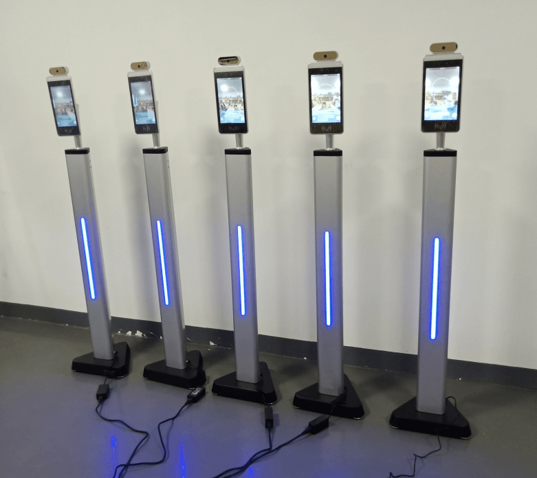 Multiple Temperature Scanning Kiosks