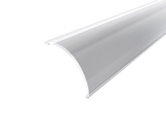 Slim Corner Profile 16mm Silver Finish & Clear Cover (2M)