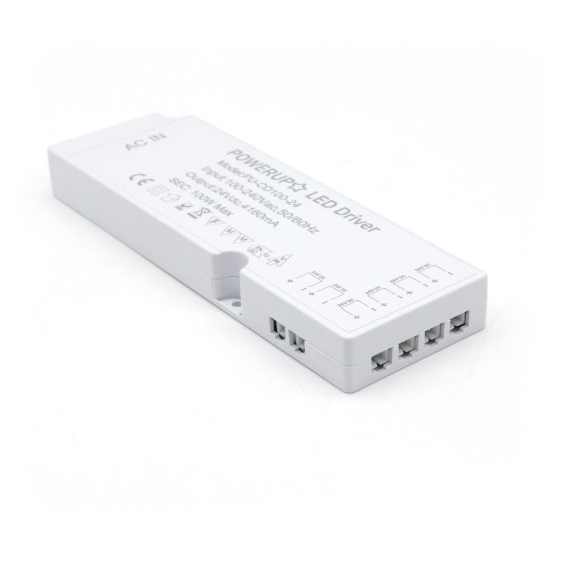 100W cabinet LED driver PSU with 6 outputs