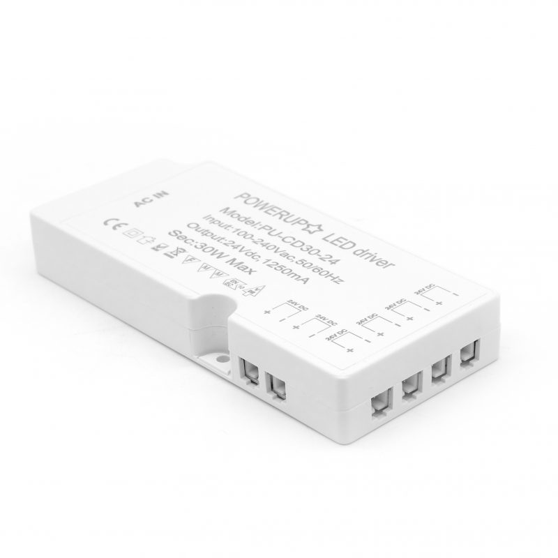 PU-CD30-24 Cabinet LED Driver With 6 Connectors Image