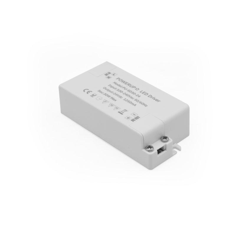 30W 24V Constant Voltage Driver PSU Power In
