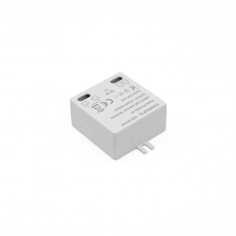 6W 24V Constant Voltage Driver PSU Diagonal Right View