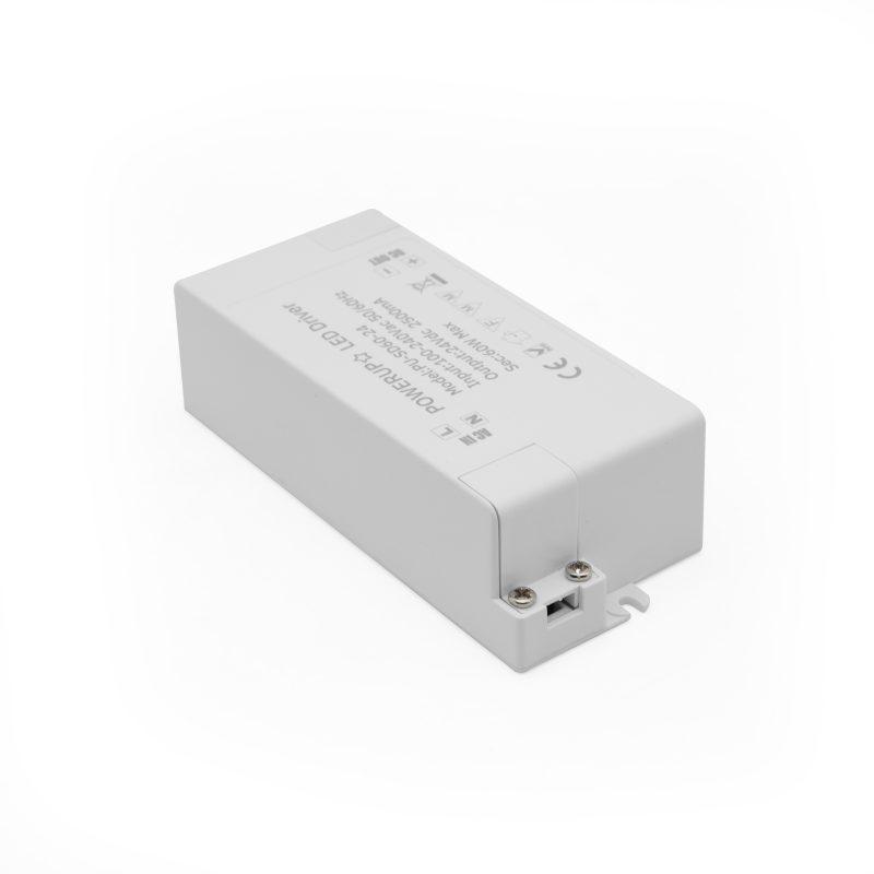 60W 24V Constant Voltage Driver PSU LED Light Connectors