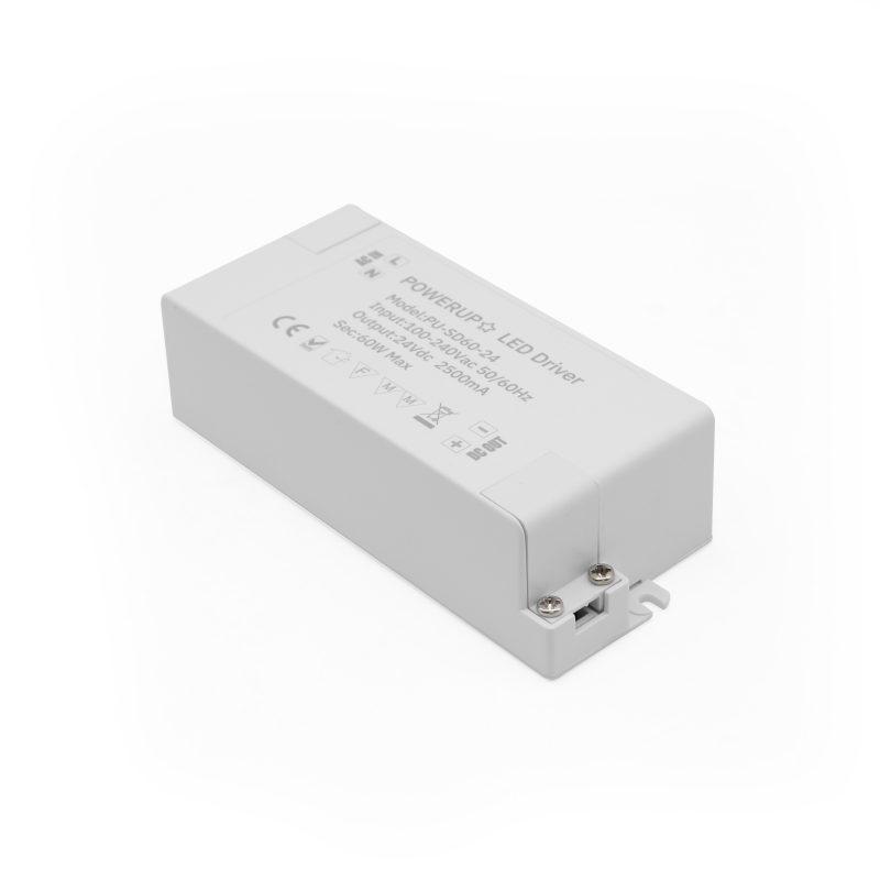 60W 24V Constant Voltage Driver PSU Power In