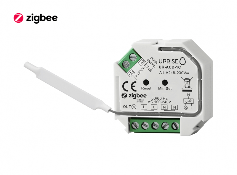 ZigBee AC Dimmer Remote Switch Front View 2