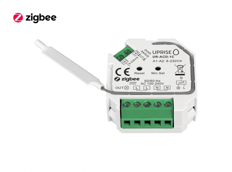 ZigBee AC Dimmer Remote Switch Front View 3