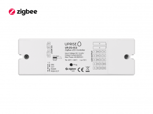 ZigBee 5CH LED Controller Receiver For RGBCW (12V-24V) Overview - UR-ZG-5C2-04b