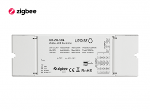 ZigBee 5CH LED Controller Receiver For RGBCW (12V-48V) Overview - UR-ZG-5C4-04