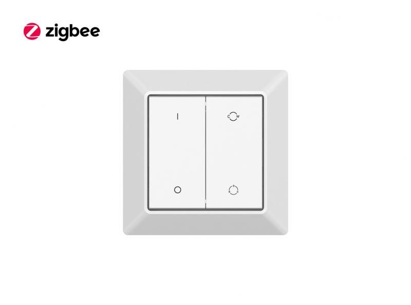 Zigbee Kinetic Eco Green Power Switch Wall Mounted Controller Front
