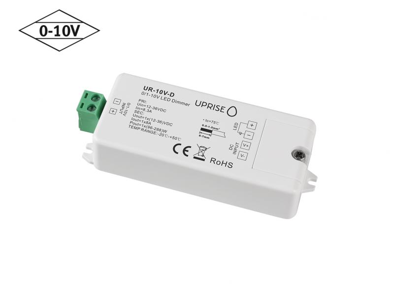 Constant Voltage 0-10V LED Dimmer Controller (1CH) Diagonal 2