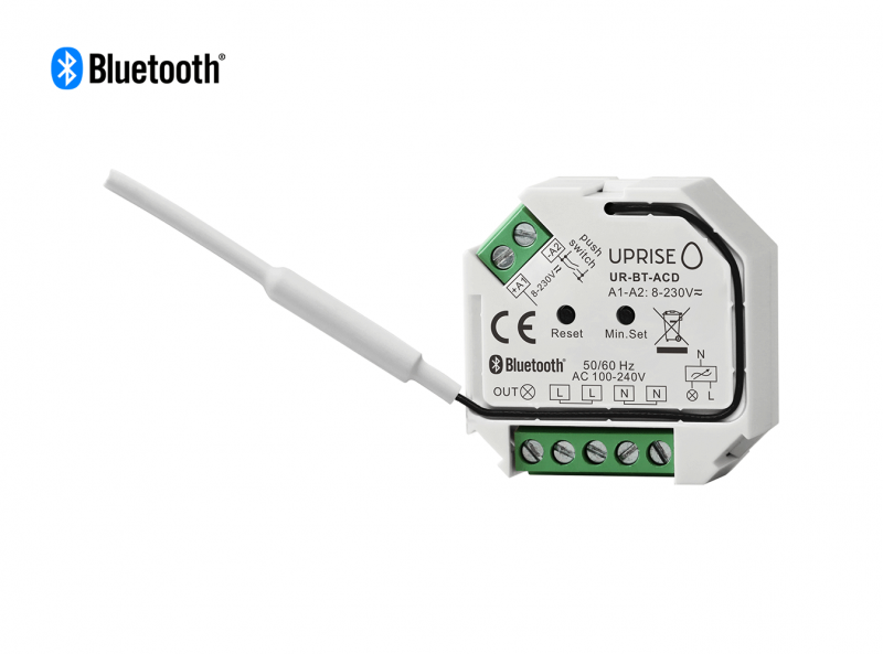 Bluetooth AC Dimmer Remote Switch Front View 2
