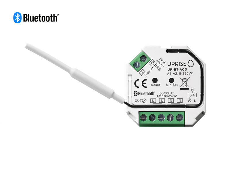 Bluetooth AC Dimmer Remote Switch Front View