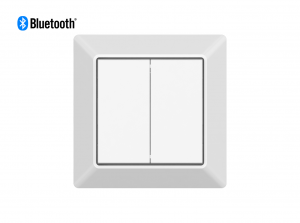 Mounted Bluetooth Wall Dimmer Front View
