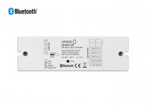 Bluetooth 5CH LED Controller Receiver For RGBCW (12V-24V) Overview - UR-BTC-5C