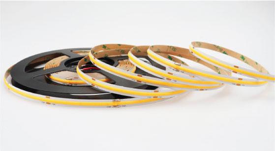 8mm Dot-Free COB LED Ribbon 9W Standard 12V