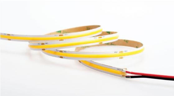 8mm Seamless COB LED Tape Strip 15W PRO 12V