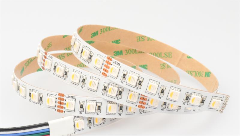 12mm 84LED SMD5050)RGBW 4 in 1 LED Tape 27W 24V