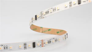 15mm 60LED DMX Addressable Pixel RGBW SMD5050 LED Tape 20W 24V
